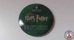 Chapa de los estudios de Harry Potter en Londres