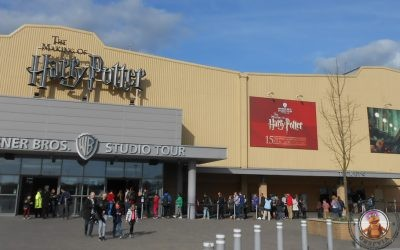 Harry Potter Studio Tour Londres – Llegada a los estudios