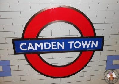 Parada de metro Camden Town - Mercado de Camden