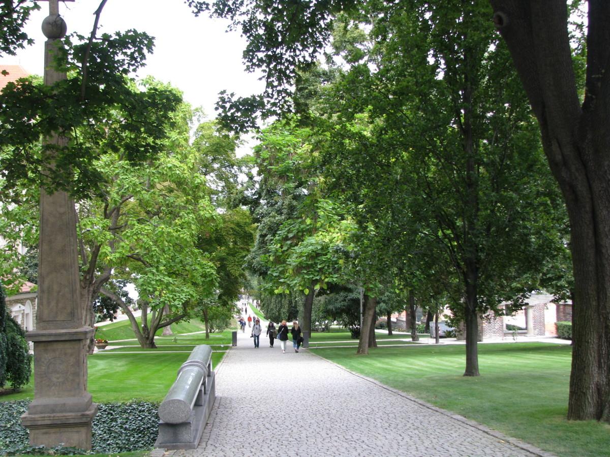 Jardines del Castillo de Praga