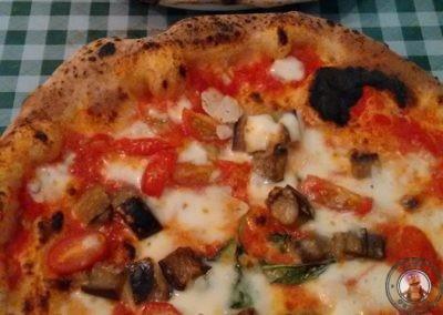 Pizza Pilgrims - Pizzas  Portobello mushroom & Truffle y Aubergine Parmagiana