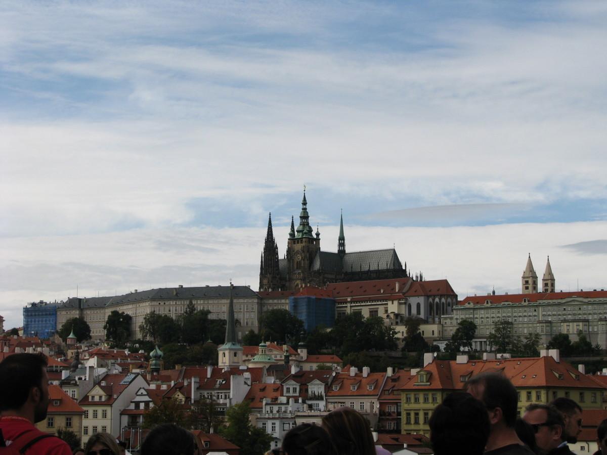 Vistas del Castillo de Praga