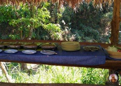 Comida en Elephant Nature Park