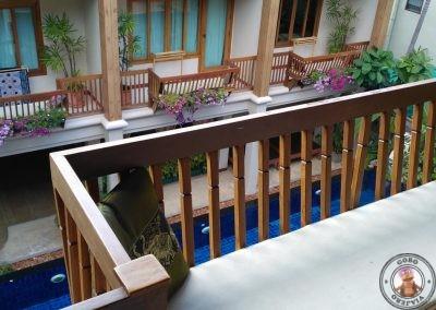 Balcón habitación doble superior