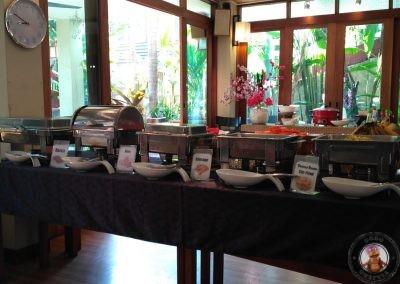Desayuno Vieng Mantra Hotel