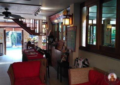 Recepción Vieng Mantra Hotel