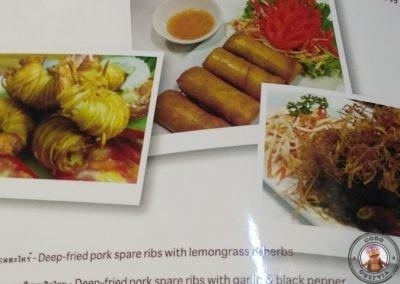 Restaurante Tealicious - Carta