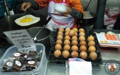Rotee o pancake Tailandes