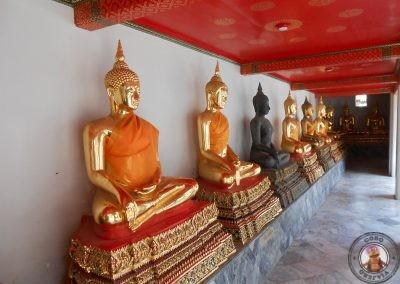 Budas en Templo Wat Pho