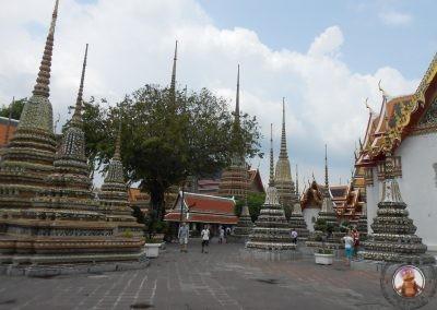 Estupas del Templo Wat Pho