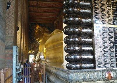 Buda reclinado en Templo Wat Pho