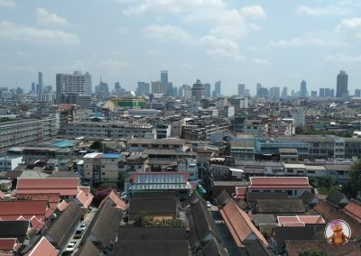 Vistas desde el Templo Wat Saket