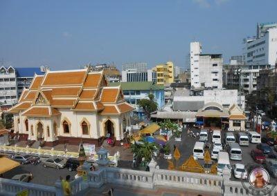 Vistas desde el Templo Wat Traimit