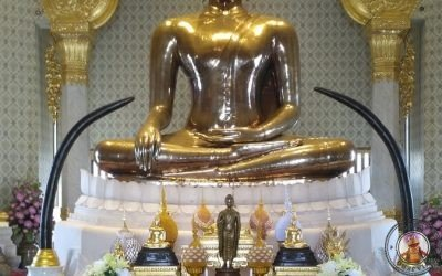 Templo Wat Traimit y Buda de oro macizo