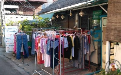Lavandería en Chiang Mai