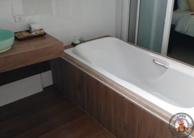 Bañera del baño