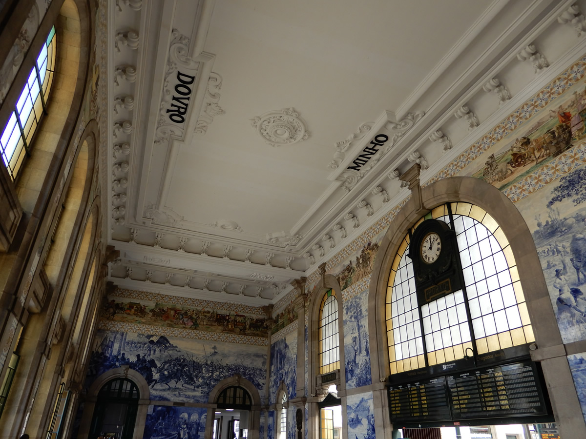 Estación de San Bento en Oporto