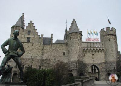 Het Steen el castillo de Amberes