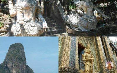 Itinerario del viaje a Tailandia Marzo 2017