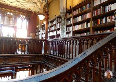 Interior de la Librería Lello e Irmao