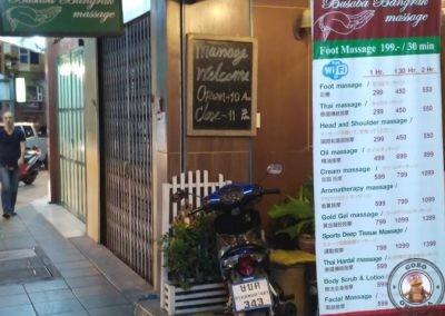 Centro de masajes Busaba Bangrak Massage en Bangkok