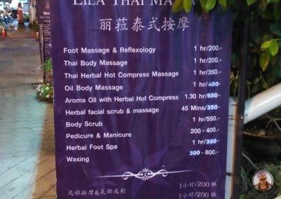 Centro de masajes Lila Massage en Chiang Mai