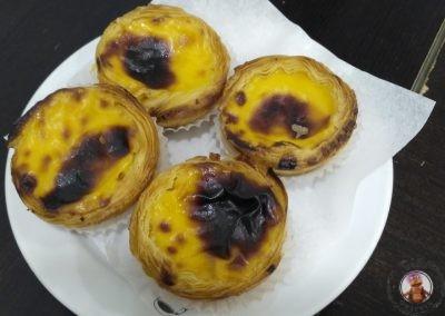 Pasteles de nata de Oporto