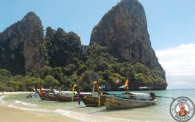 Playa de Railay West en la península de Krabi