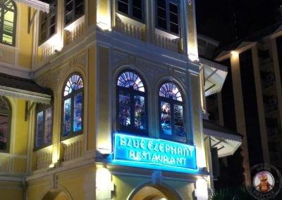 Exterior del restaurante Blue Elephant