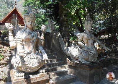 Templo Wat Phra Lat en Chiang Mai