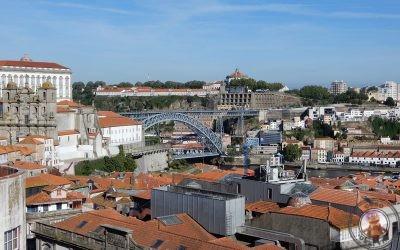 Mirador da Vitória en Oporto