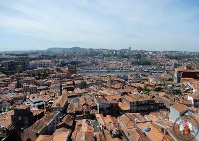 Vistas desde la Torre hacia la Catedral y la Ribera