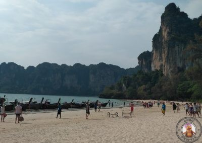 Zona de Longtail en Railay West