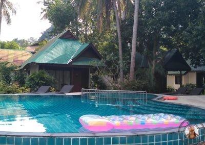 Zona de piscina interior