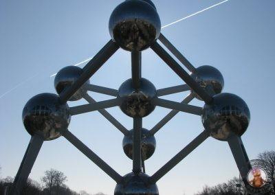 El Atomium en Bruselas