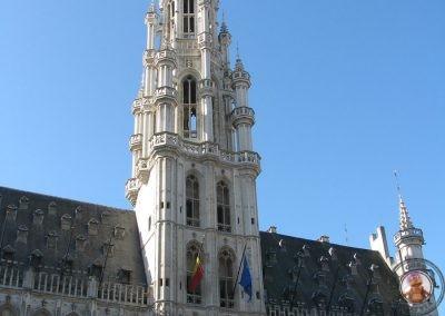 Ayuntamiento de Bruselas en la Gran Place