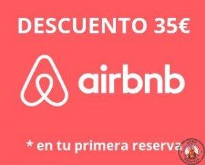 Ahorra dinero - Descuento de 35€ en Airbnb