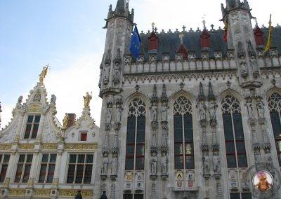 Edificios en la Plaza Burg