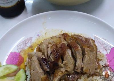 Restaurante Prachak Roasted Duck - Roasted duck wiht rice