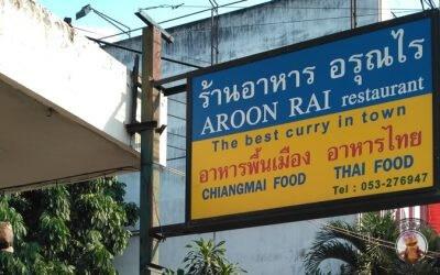 Khao Soi en Aroon Rai en Chiang Mai