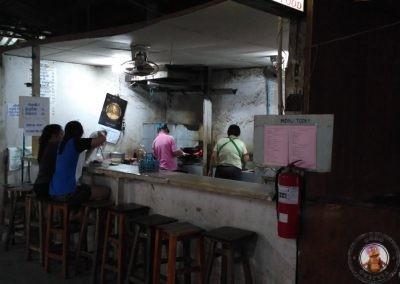 Cocina del Thapae Boxing Stadium