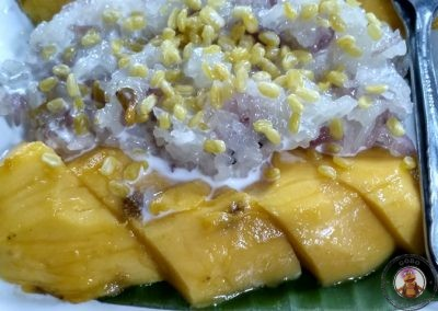 Mango Sticky Rice, postre tradicional tailandés