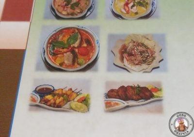 Carta del Restaurante Queen of Curry