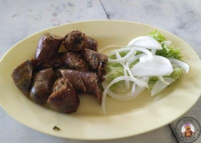 Salchicha de cerdo picante