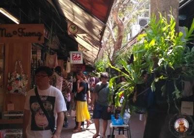 Mercado de Chatuchak en Bangkok