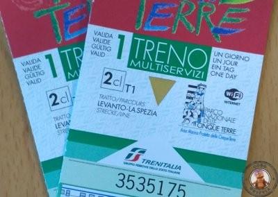 Cinque Terre Card - Senderos y tren