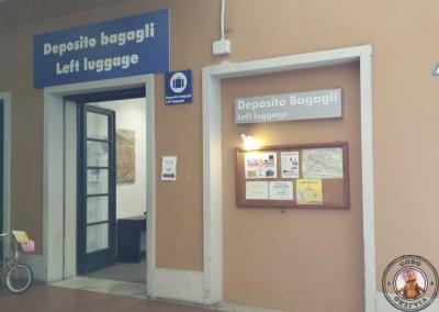Depósito de equipajes de la Estación de tren Pisa Centrale