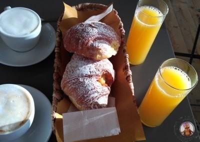 Desayuno del Affittacamere La Risacca
