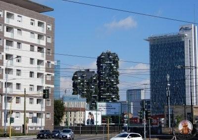 Edificios de Milán - Bosco Verticale