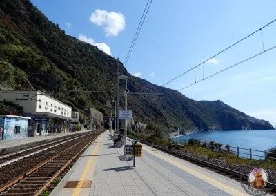 Estación de tren de Corniglia